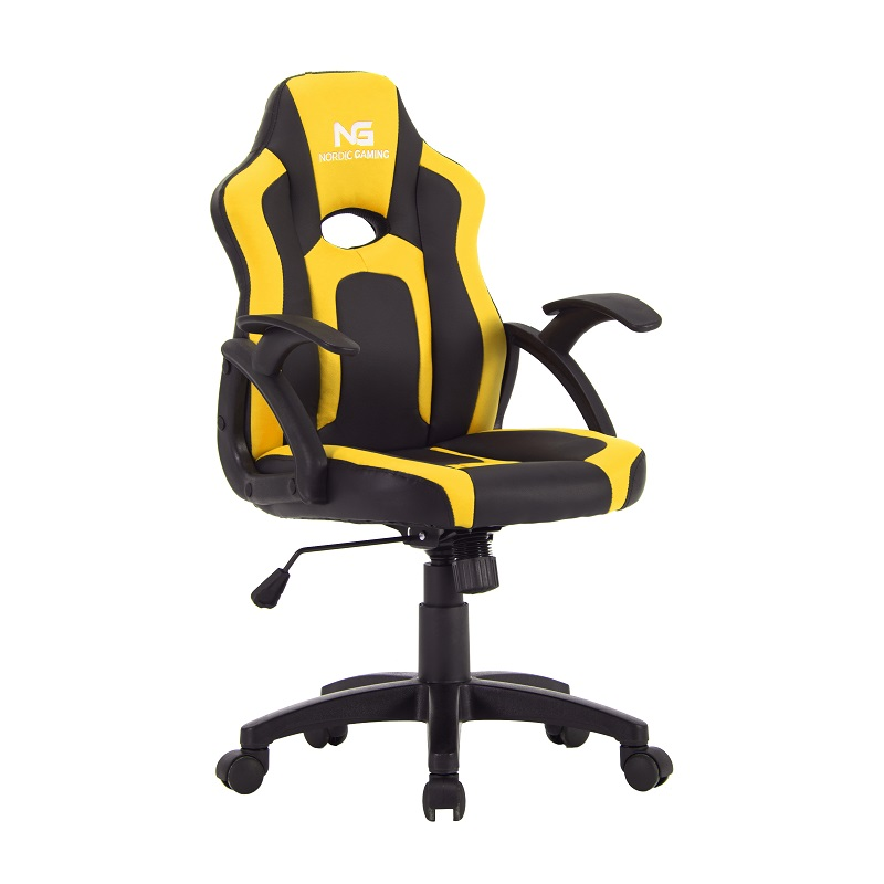 Nordic Gaming Little Warrior Gaming Chair Black Yellow
