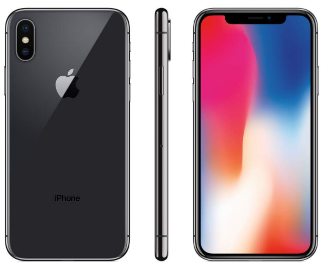 Apple iPhone X 64GB Black Refurb Grade B