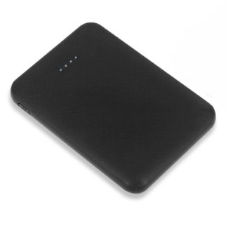 Small Power Bank 5000mAh Black