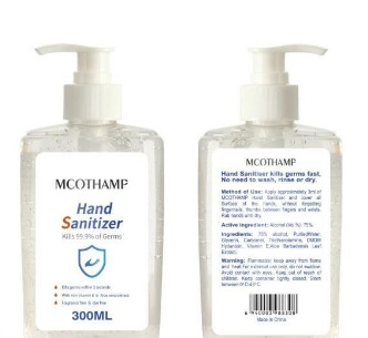 Handsprit 60 ml Gel