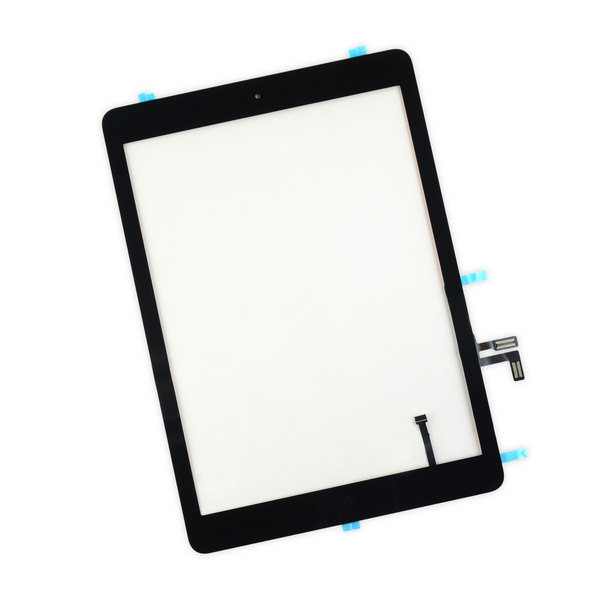 iPad air Touchscreen assembly black