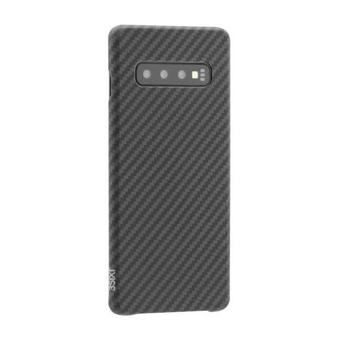 Black Aramid Case () - suitable for Samsung Galaxy S10