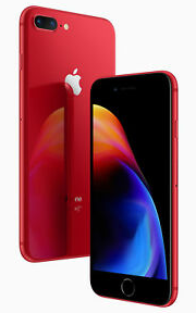 iPhone 8 Plus 64GB Red Refurb Grade B