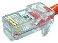 Goobay RJ45 modular plug for round cable 8 pol